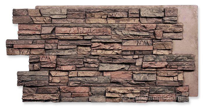 Regency Stacked Stone Earth Panel