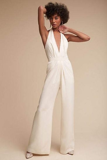 3159d5282d4 Mara Jumpsuit by Anthropologie  ShopStyle  shopthelook  SummerStyle   SpringStyle  bridalstyle