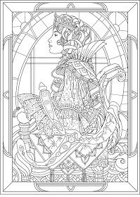 PRINCESS COLORING PAGES: PRINCESS COLOURING PAGES