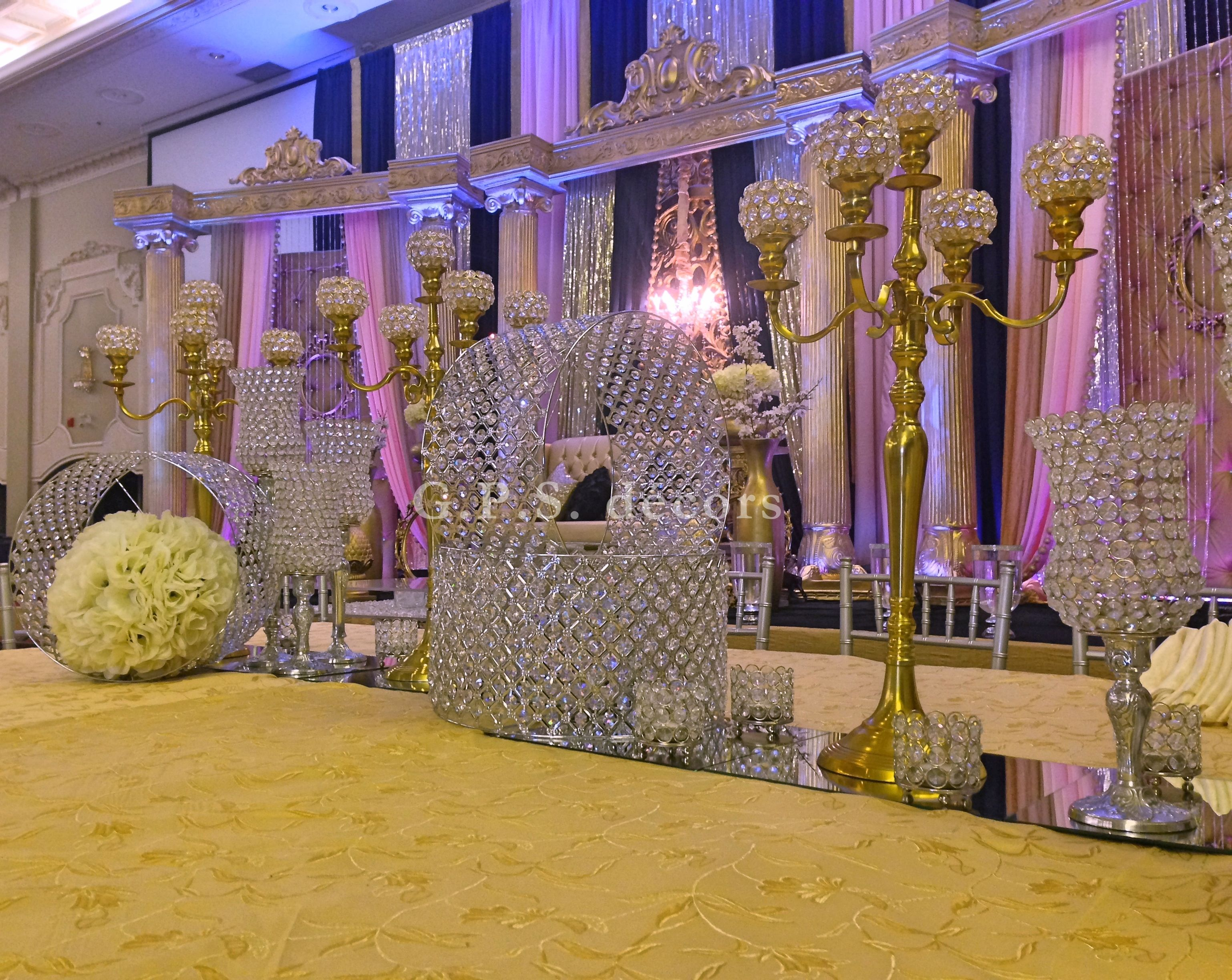 Grand Wedding Reception Setup At Versailles Convention Center Colours