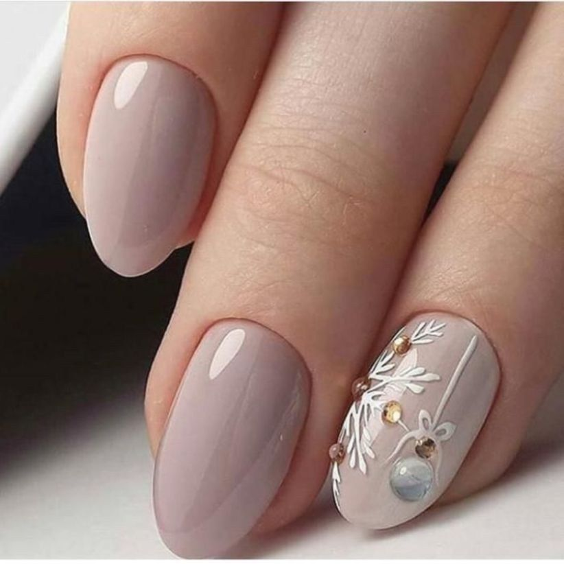 Outstanding Holiday Winter Nails Art Designs 2019 15