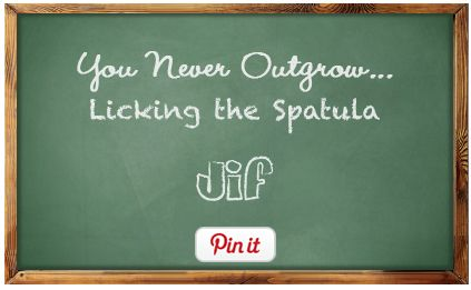 You Never Outgrow... Licking the Spatula--that is so very true! I also hear there are no calories  ;)