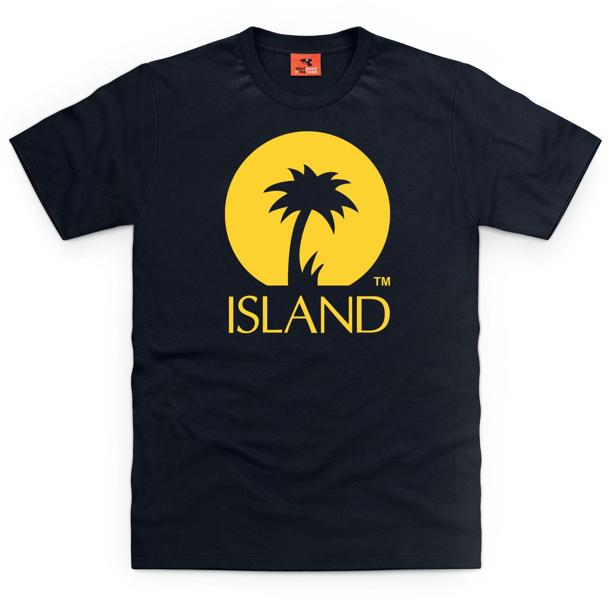 Official Island Records Logo One T Shirt Mens Amazon Co Uk