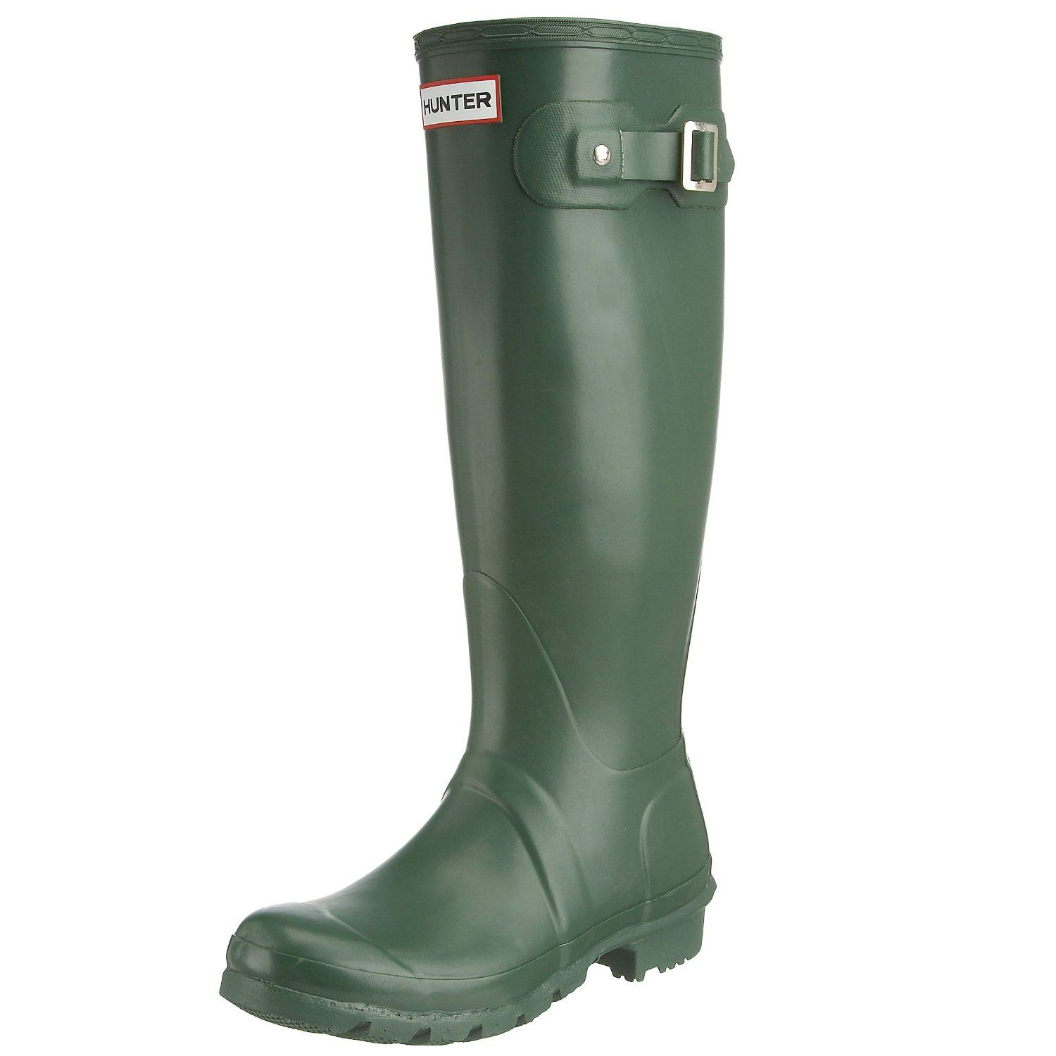 Wellies Original Gloss Tall Green Wellington Hunter- Green boots