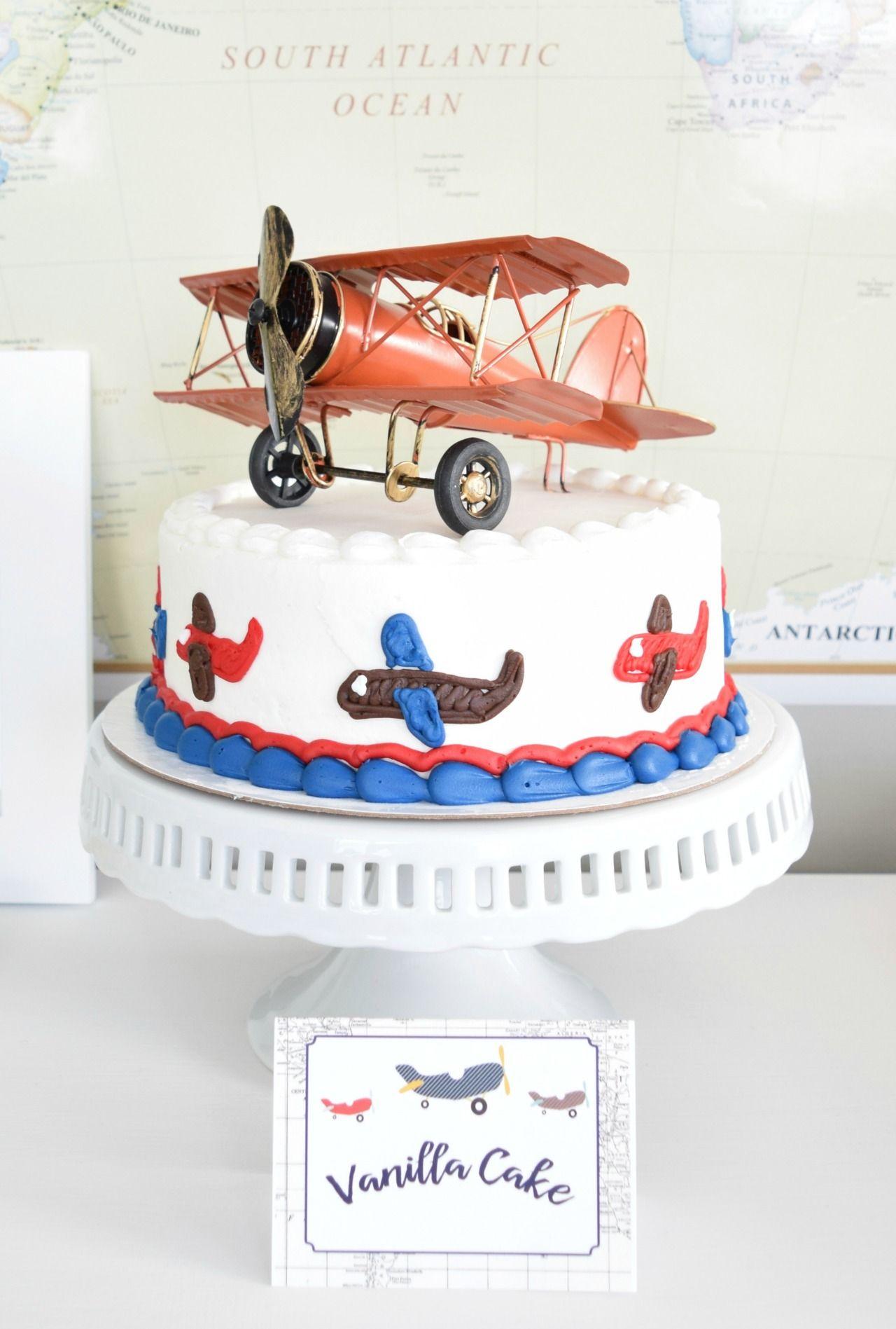 Travel safari baby shower cake babyshower airplanecake