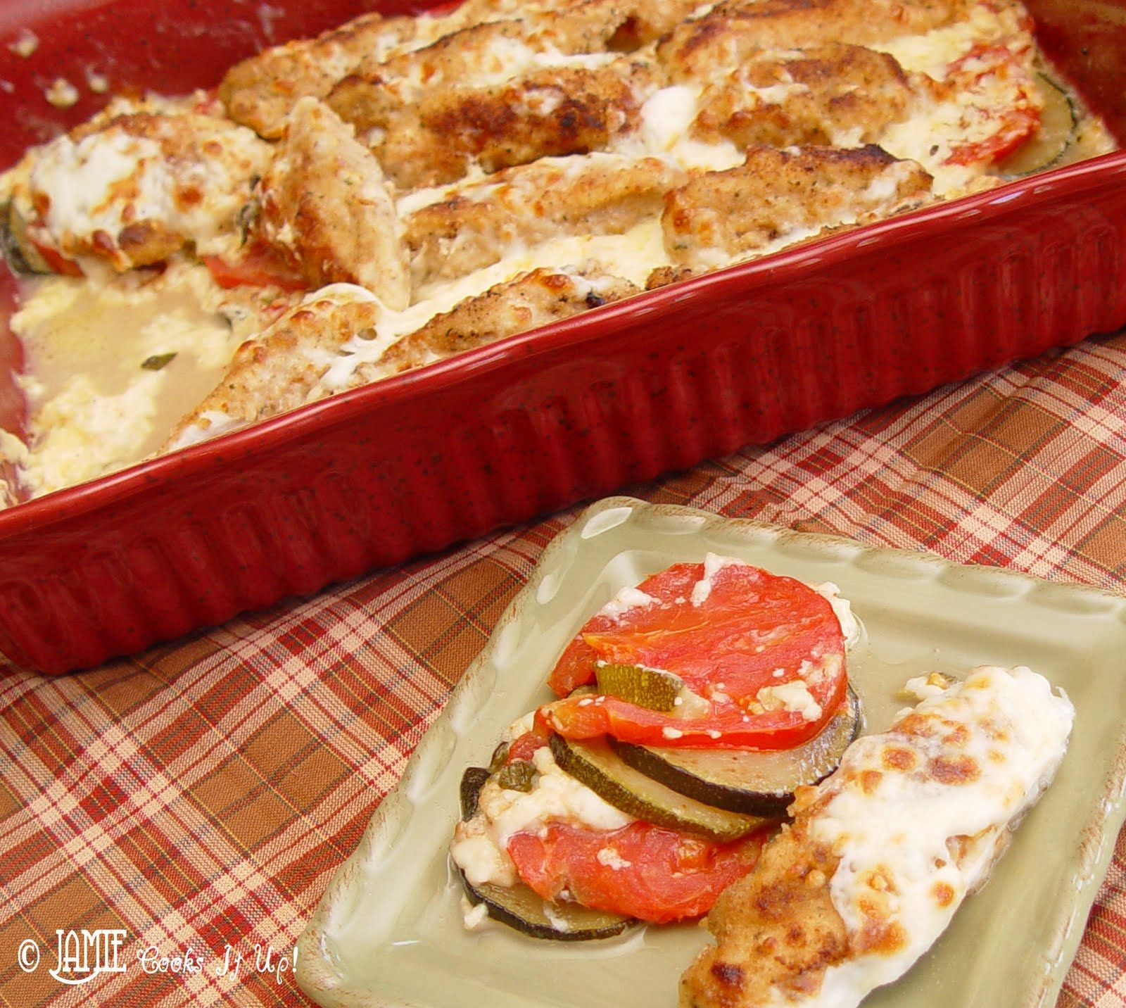 Got Tomatoes? Got Zuchinni? Make this Chicken Dinner.