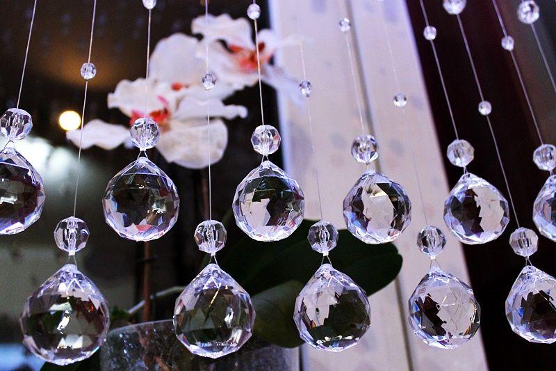 B Kula Koraliki Na Okno Makarony Krysztalki 120cm 6745540115 Allegro Pl Wiecej Niz Aukcje Christmas Bulbs Holiday Decor Christmas Ornaments