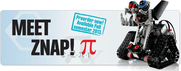Meet Znap! The new LEGO MINDSTORMS EV3 Expansion Models