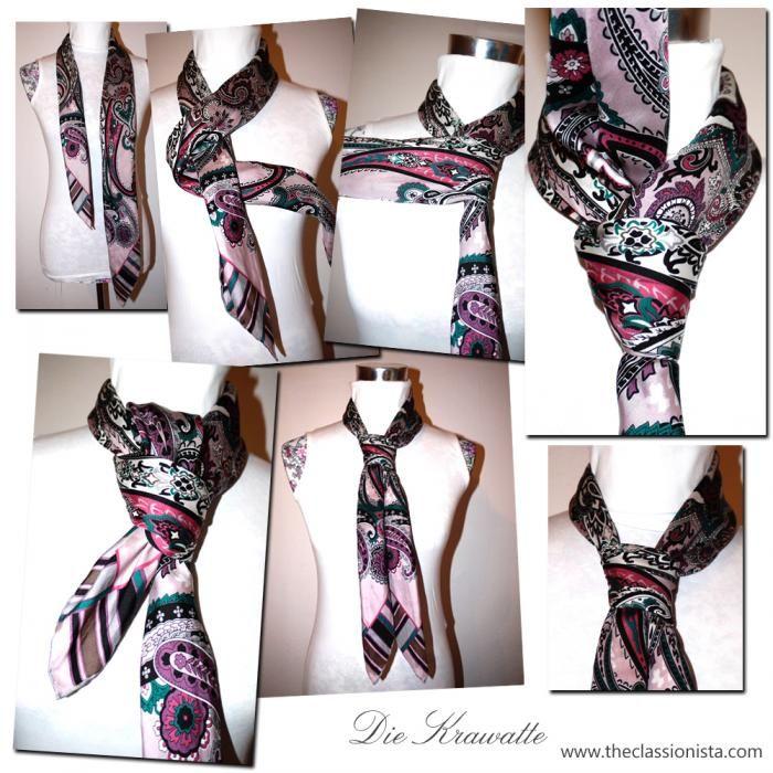 Tuch binden die krawatte tipps pinterest scarves and bandanas - Bandana tuch binden ...