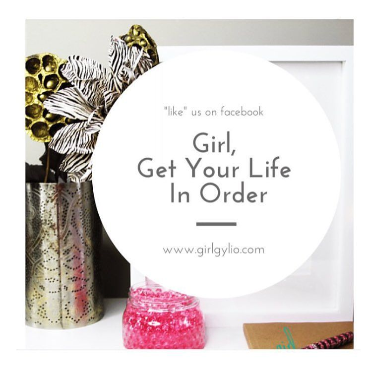 "We hang out on Facebook, too! Search: Girl, Get Your Life In Order & ""like"" it! ...thanks in advance! #GirlGYLIO #GirlGetYourLifeInOrder #Goalfriends #PlannerLife #PlanSuccess #BeIntentional #PlanAhead #Stationery #Like4Like #VMAs #iLovetoPlan #DayDesigner #Planning #GreatnessAwaits #SpeakThingsIntoExistence #BlackGirlsPlan #PlannerGirl #Organized #PaveYourWay #BeExcellent #BelieveInYourDamnSelf #KnowYourWorth #WriteTheVision #JustDoIt #BeBold #PlanningCommunity #PlannerGoals #PlanningGoals"