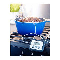 Fantast Thermometre Minuteur Numerique Noir Gadget Cuisine