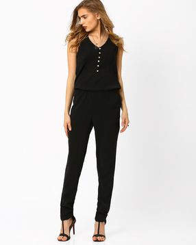 465b9dc9308 Buy Jumpsuits online India. Playsuits   Jumpsuits for women at Ajio ...