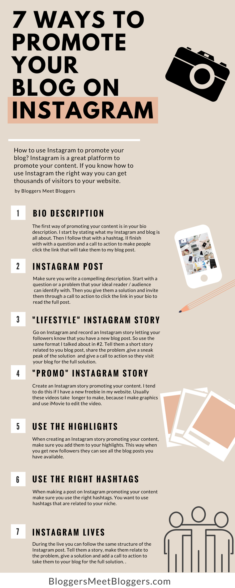 How to use instagram to promote your blog the ultimate guide how to use instagram for bloggers heres the complete guide on how to use instagram ccuart Choice Image