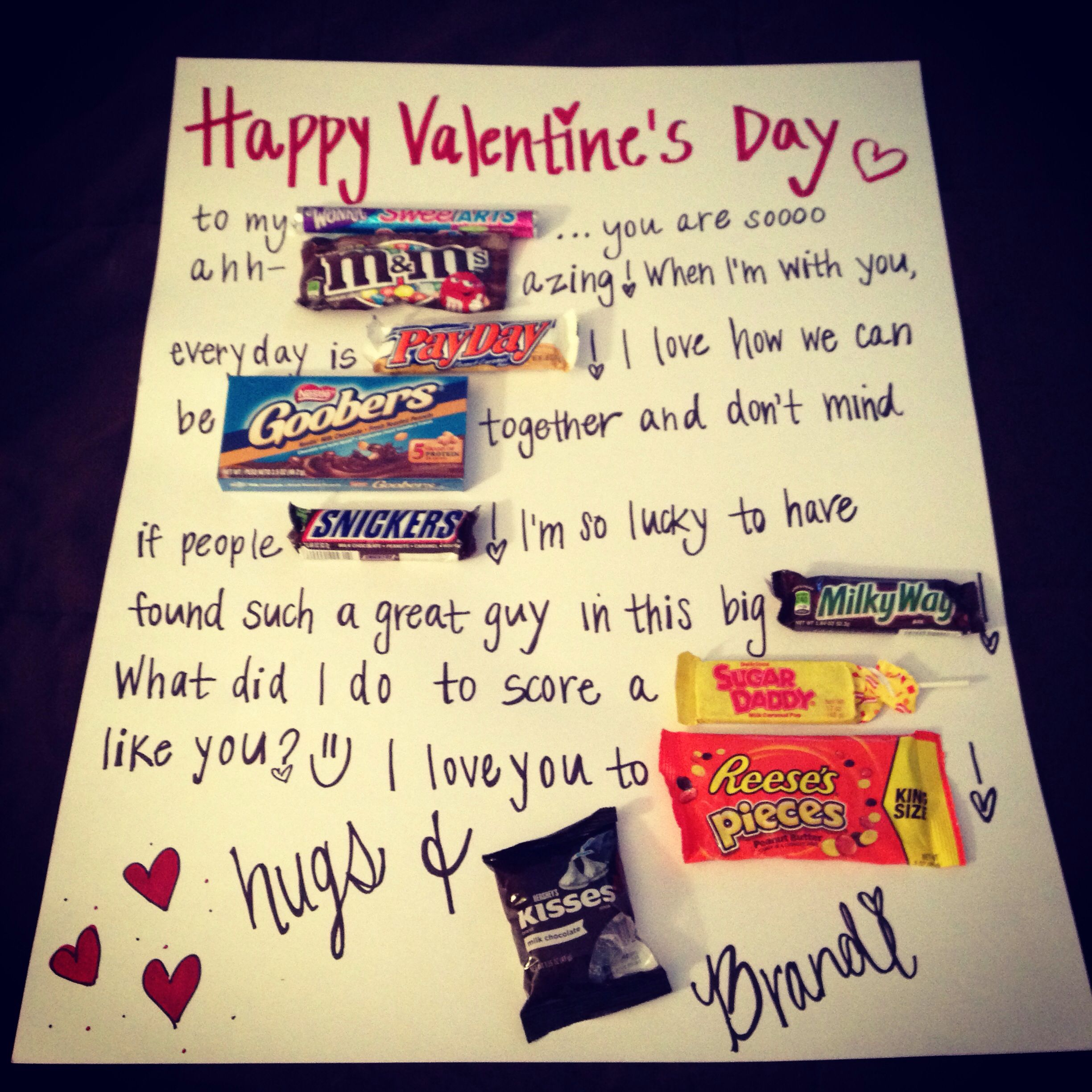Easy diy valentines gift for him valentines day for Valentines day gifts for him ideas