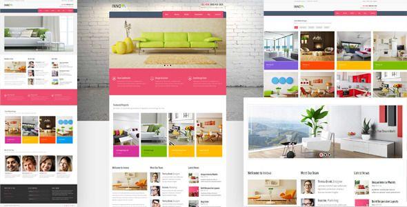 Innova - Interior & Funiture WordPress CMS Theme | Wordpress and ...