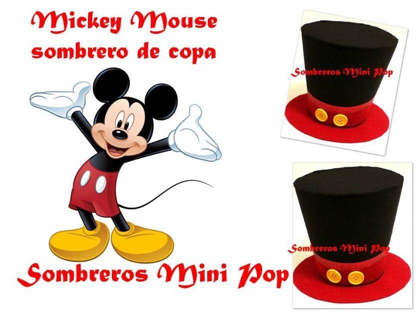 Mickey Mouse sombrero 5 75 cm de grande es de Medidas El sombrero