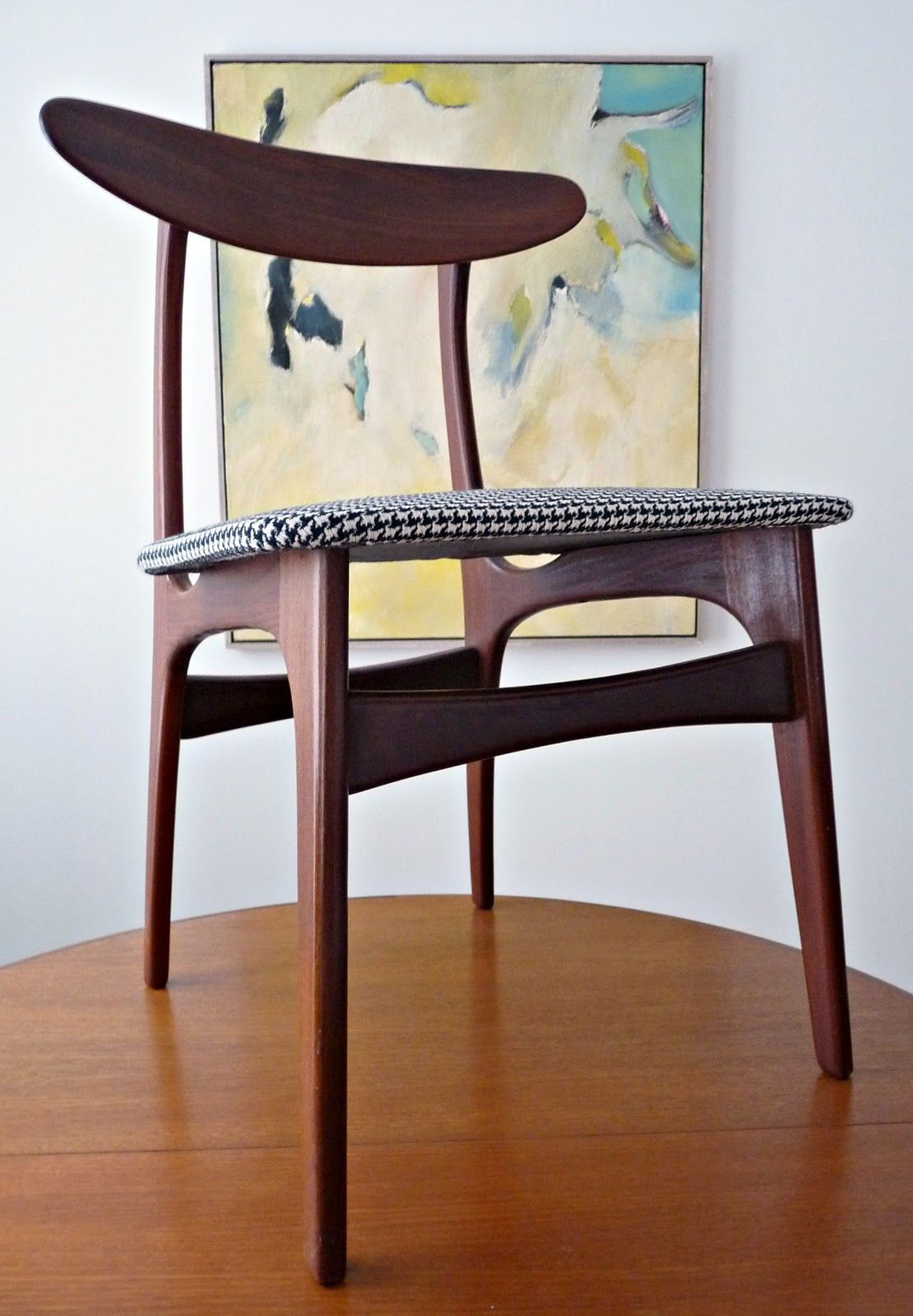 How To Reupholster Dining Chairs  Teak Dining Chairs And Dining Extraordinary Reupholster Dining Room Chairs Design Ideas