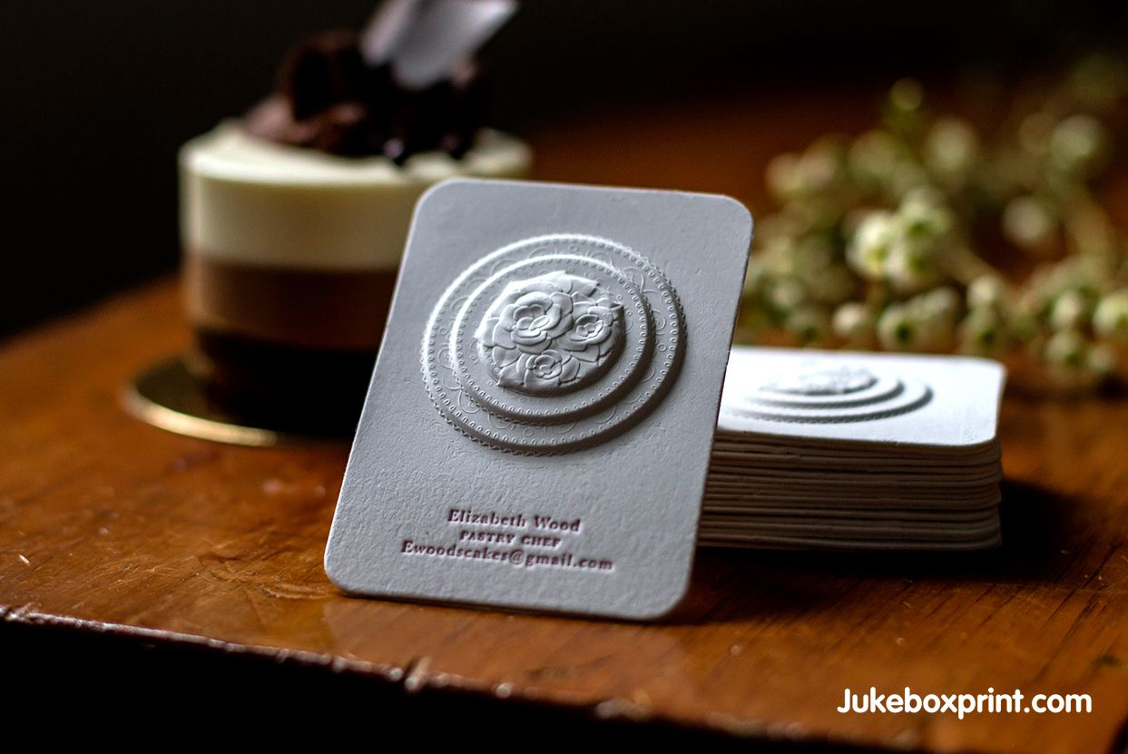 Make your card look rich with Embossed Business Cards - Jukeboxprint ...