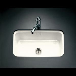 Beau K5832 5U 96 Bakersfield White/Color Undermount   Single Bowl Kitchen Sink    Biscuit