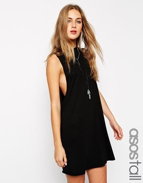 Enlarge ASOS TALL T-Shirt Dress with Drop Arm Hole