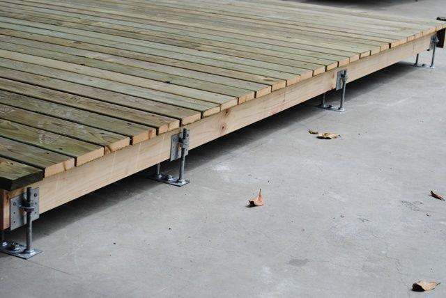 Klevaklip Adjustable Joist Support Hanger Bracket Suit 45mm Timber Ebay Deck Over Concrete Building A Deck Diy Deck