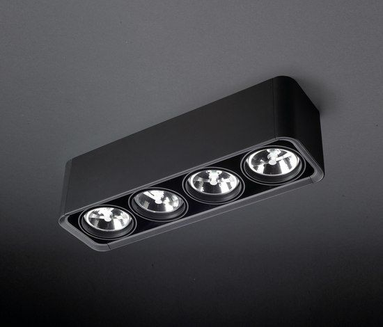 BACO SURFACE MOUNTED   Ceiling Mounted Spotlights From LEDS C4 | Architonic