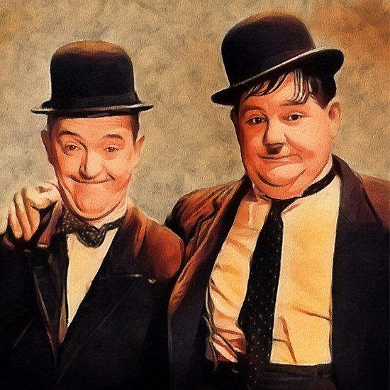 'Laurel and Hardy, Hollywood Legends' by SerpentFilms