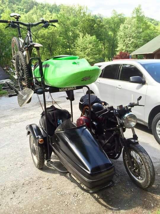 Bike Roof Rack Motorcycle Camping Motorcycle Camping Gear Motorcycle