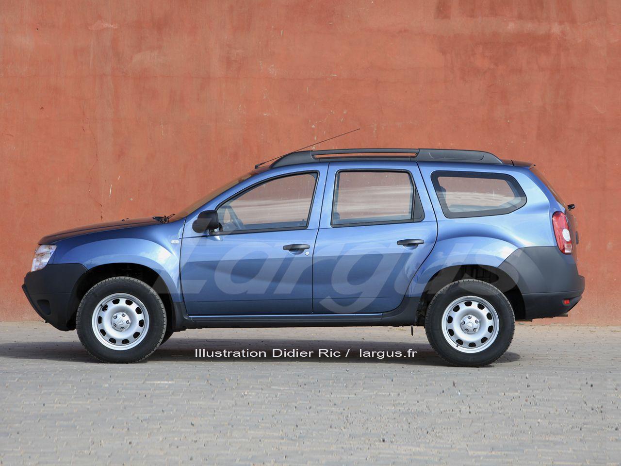 Futur Dacia Duster 2017 Une Version A 7 Places Dacia