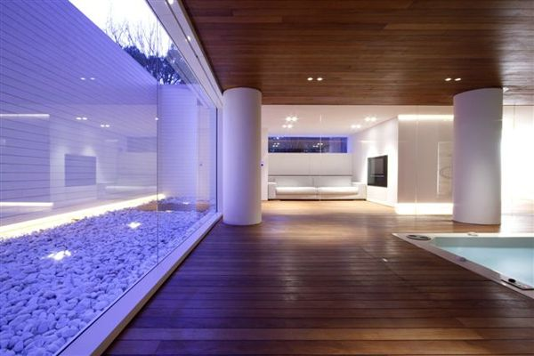 Luxury Indoor Pool House Design by JM Architecture | Pool house ...