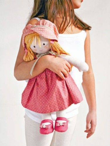 How to Sew a Super Cute Rag Doll Sewing Pattern | Pinterest | Doll ...