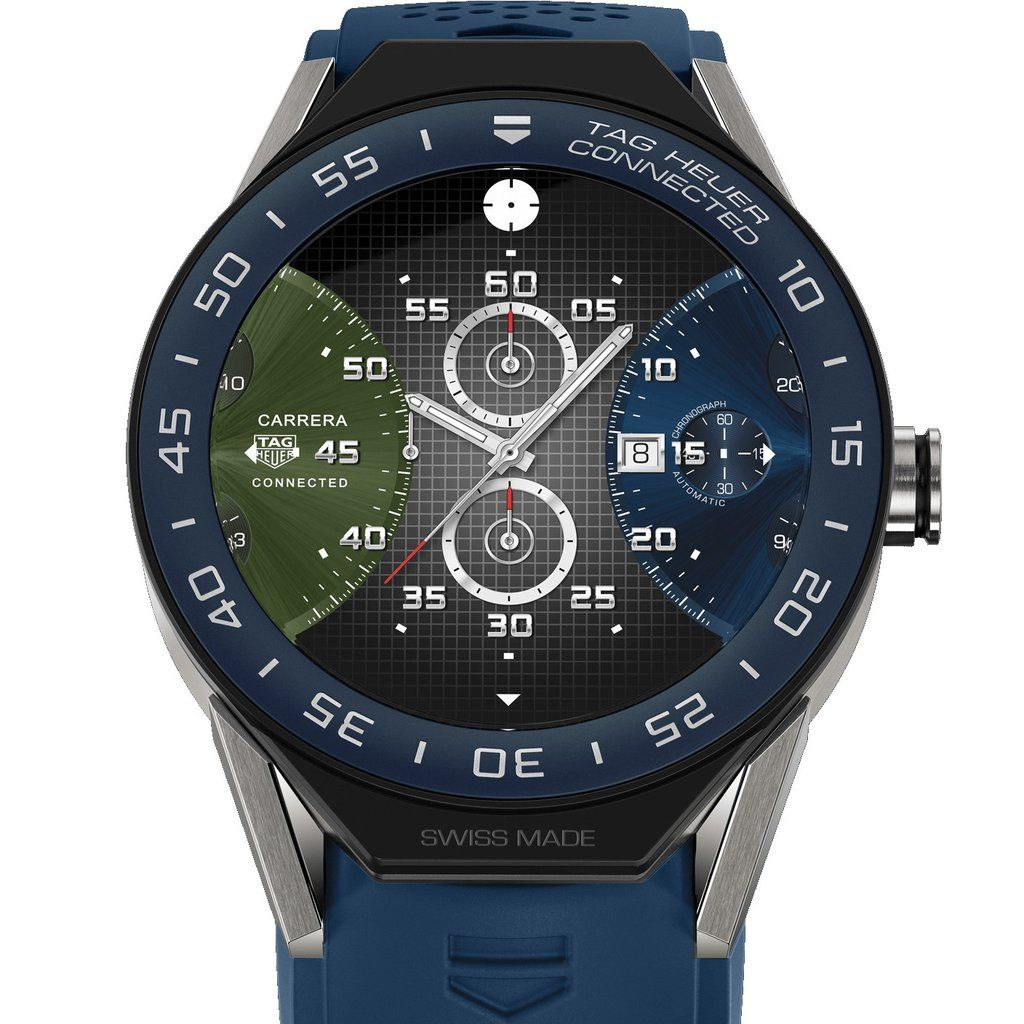 TAG Heuer Connected Modular 45 Smartwatch Blue