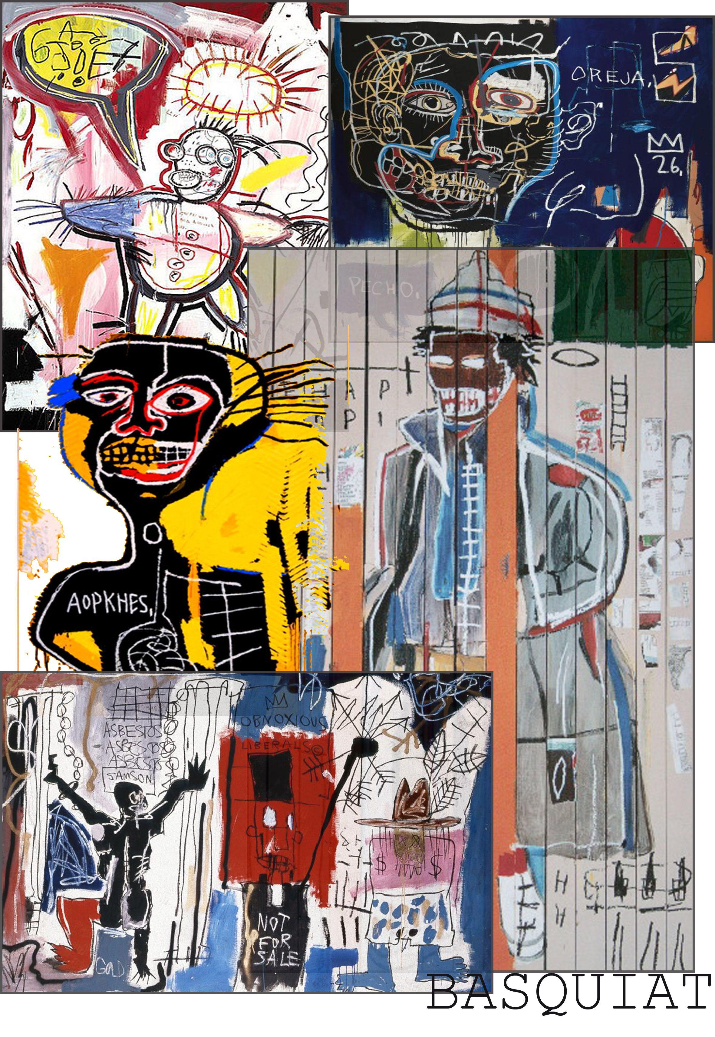 basquiat drawings lines traits ink jean michel. Black Bedroom Furniture Sets. Home Design Ideas