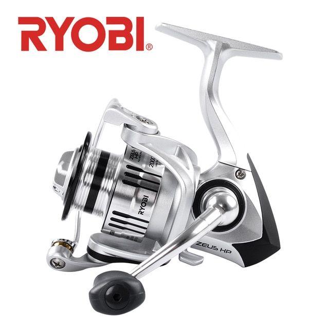 02f7c3a1bb8 18 original RYOBI ZEUS HP fishing reels spinning 6 1BB 1000 2000 3000 4000  5000 6000 8000 2.5~10kg drag Gear Ratio 5.1:1/5.0:1 Review