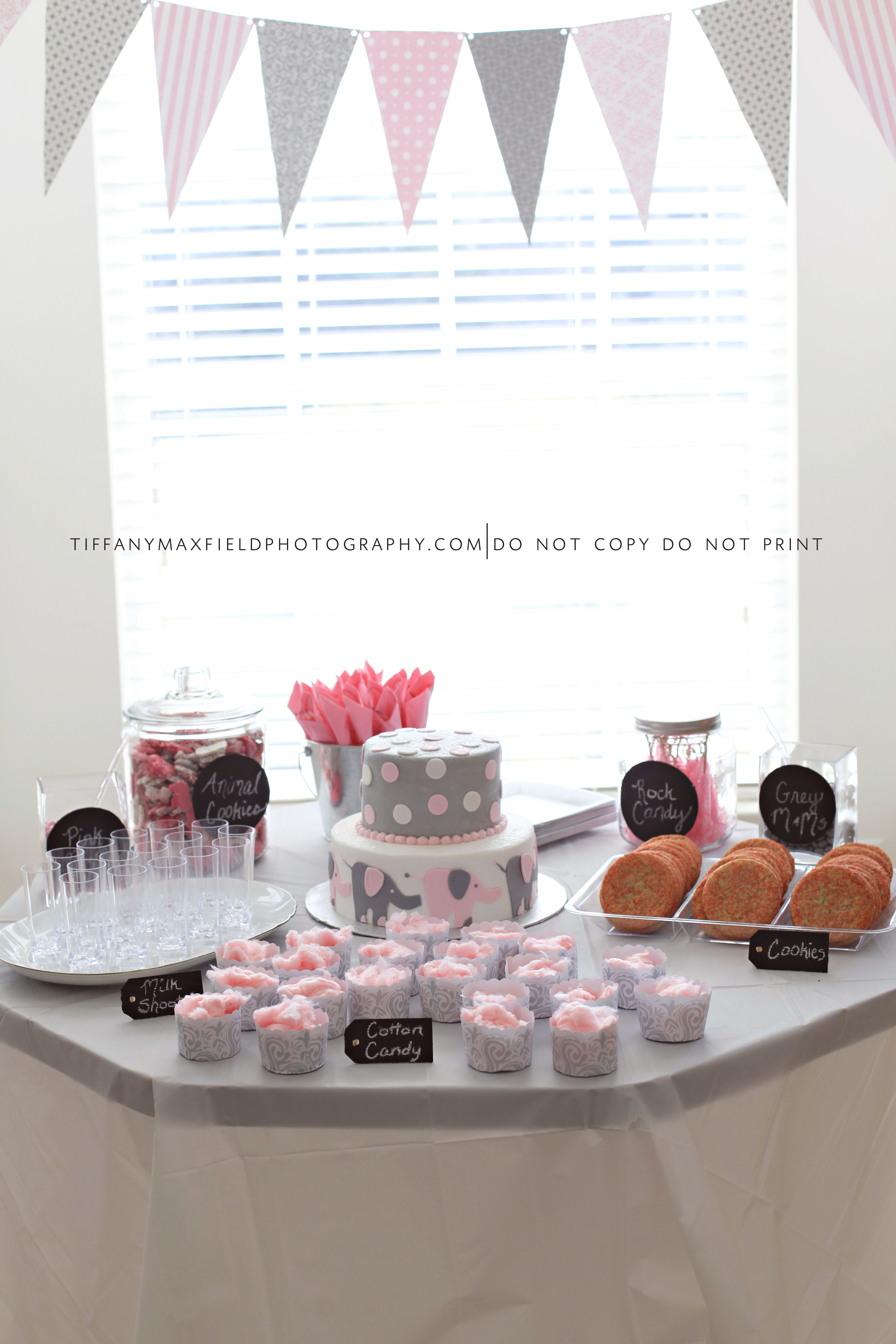 cute baby shower theme i love pink and grey baby stuff