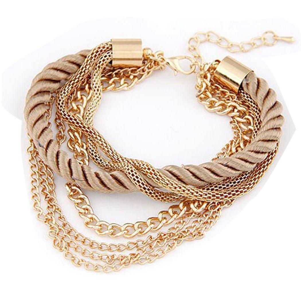 New fashion women lots style gold rhinestone bangle charm cuff