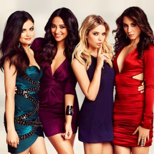 Cast of Pretty Little Liars ❤ Troian Bellisario (Spencer) Lucy Hale (Aria) Ashley Benson (Hanna) Shay Mitchell (Emily)
