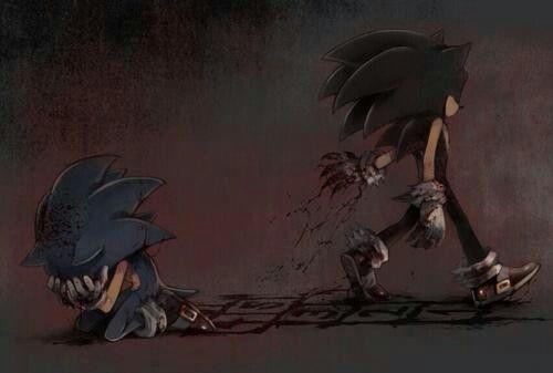 Sonic the hedgehog and Sonic EXE | sonic creepypasta | Sonic
