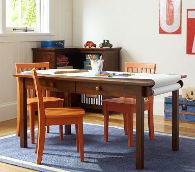 Carolina Large Table 4 Chairs Set Pottery Barn Kids White