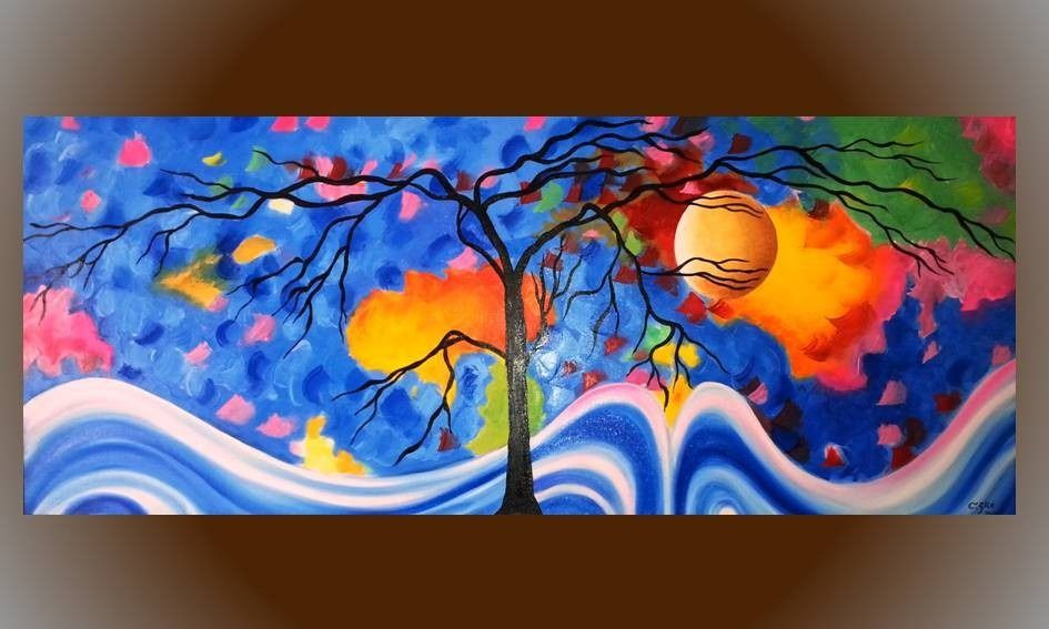 Cuadros al leo pinturas de paisajes caballos bodegones for Cuadros bonitos para comedor