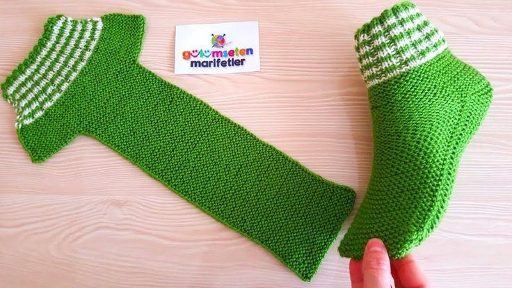 Photo of Sehr einfache Männer-Frauen bequeme Socken stricken einfache Strickgrund …