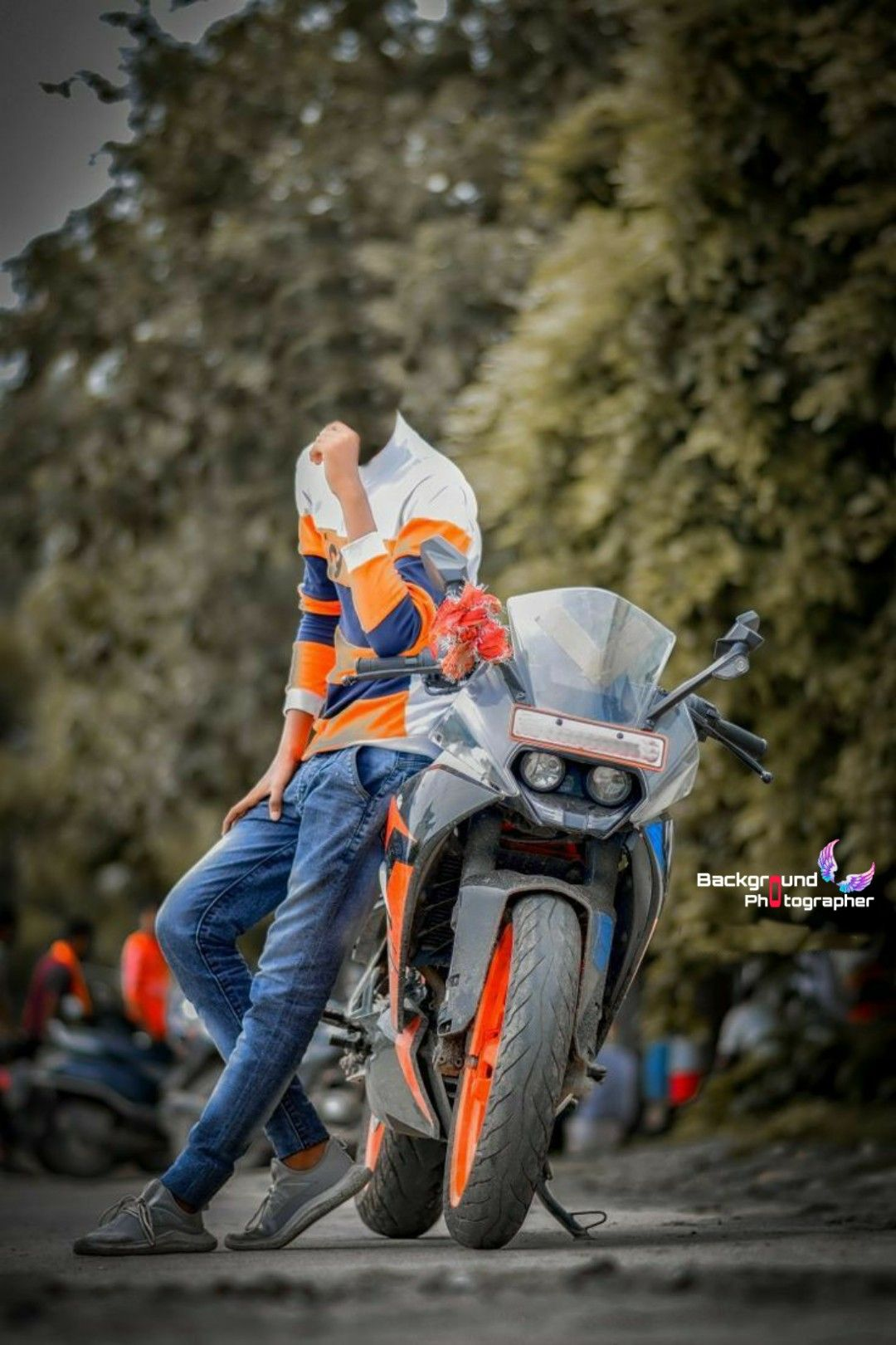 Bike lovers Photography pose in 2020 Love background