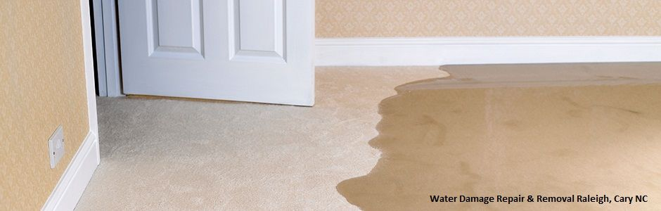 Water Damage Repair Removal Raleigh Cary Nc Call Restore Pro Reconstruction As Soon As Possible Wet Basement Waterproofing Basement How To Clean Carpet