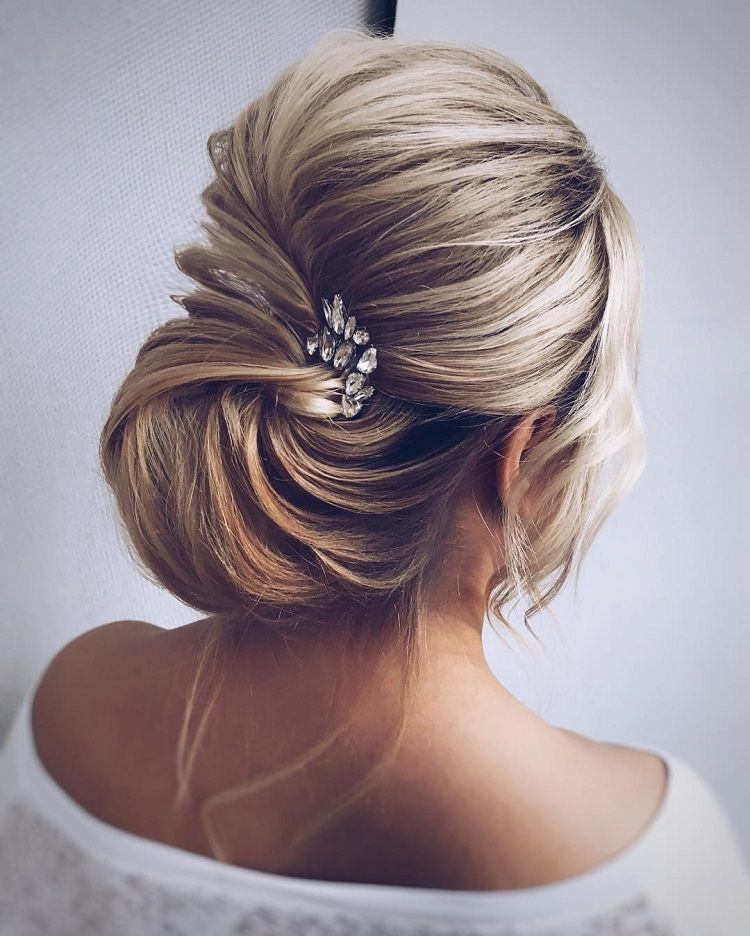 Gorgeous bridal updo hairstyle to inspire you | wedding ...