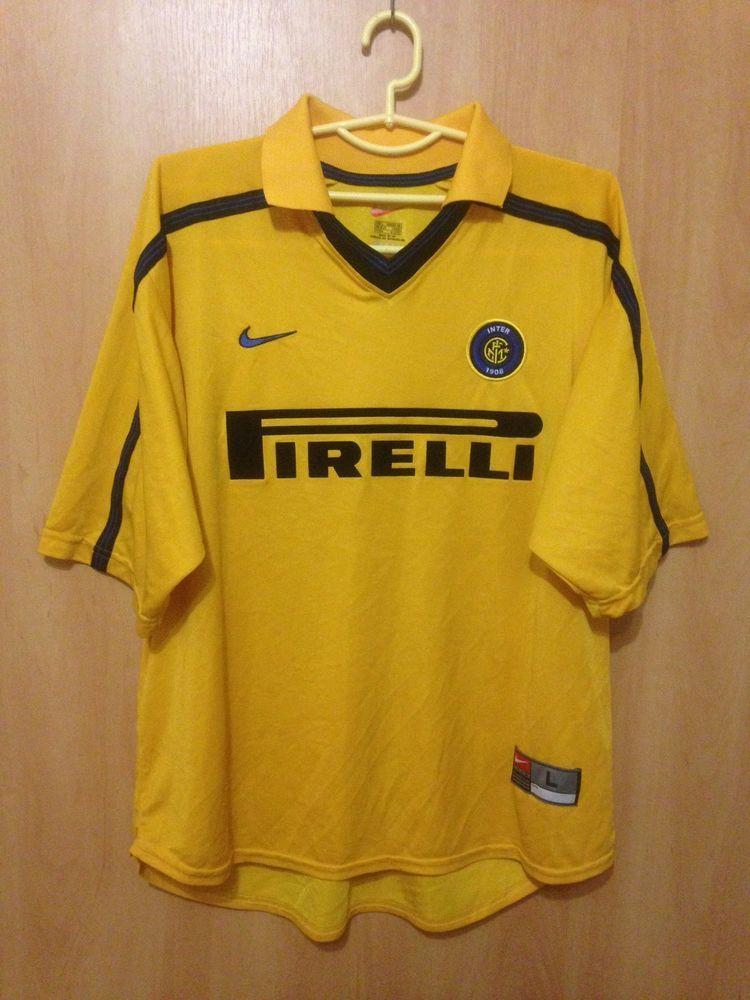 5e1cde821 INTERNAZIONALE ITALY 1999 2000 THIRD FOOTBALL SHIRT JERSEY MAGLIA VINTAGE  NIKE (eBay Link)