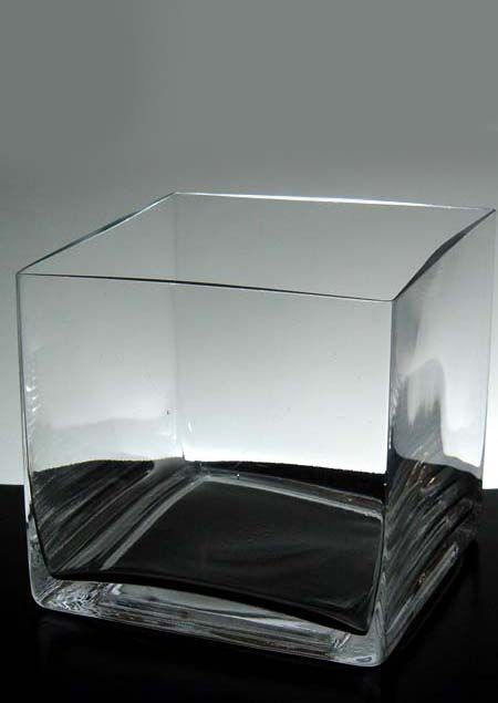 Richland Square Glass Cube Vase 5 Ambers Living Room Part 2
