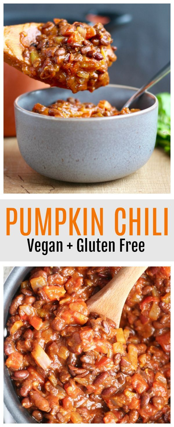 Pumpkin Chili Recipe Vegan Gluten Free