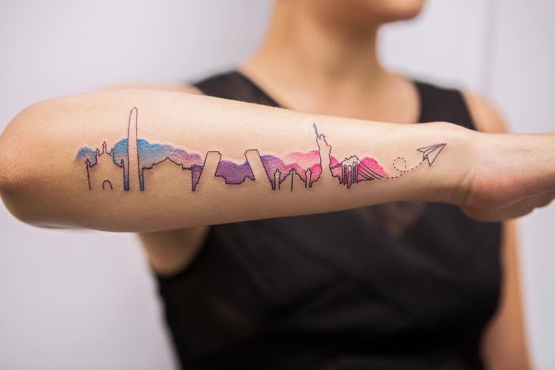 Gambar Tato Di Lengan Yang Simple Kata Kata Bijak Tattoos Different Styles Of Tattoos Tattoo Styles