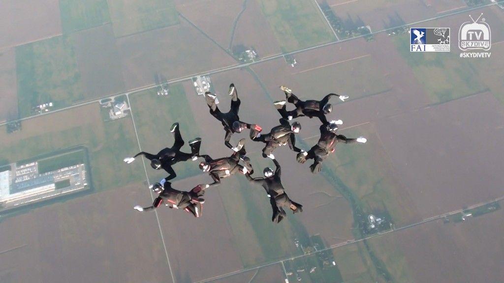 8 Way 2016 Fai World Parachuting Championships Mondial Paragear Wpc2016 Fai Uspa Skydivetv Skydivechicago Skydiving Skydiving Skydive Chicago World
