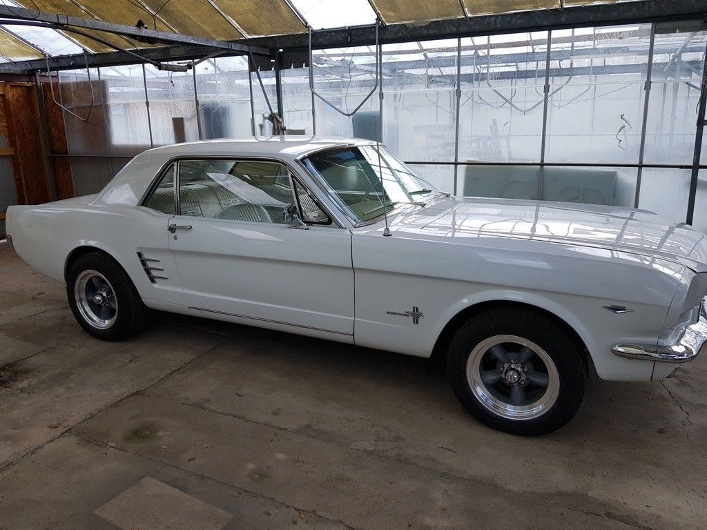 1965 Mustang V8 and automatic fully restored | Mustang v8, 1965 ...